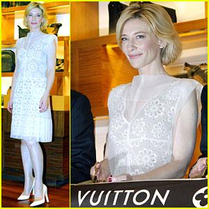 Cate Blanchett: Louis Vuitton Aussie Opening!
