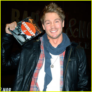 Chad Michael Murray: 'Everlast' Q&A at Barnes & Noble!