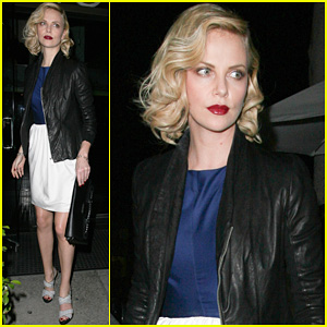 Charlize Theron: Dinner at Mr. Chow!