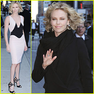 Charlize Theron: Late Show with David Letterman!