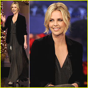 Charlize Theron: 'Tonight Show' Appearance!