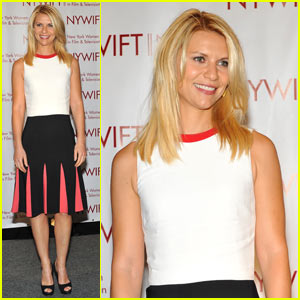 Claire Danes: NYWIFT Muse Awards!