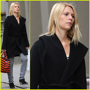 Claire Danes 'Couldn't Be Happier' With Golden Globe Nod
