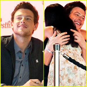 Cory Monteith: 'Glee' DVD Signing!