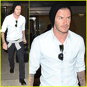 David Beckham: Royal Melbourne Hospital Patients were 'Incredible'