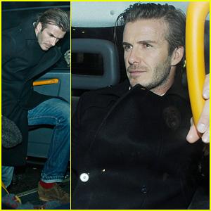 David Beckham: Night Out at the Arts Club!