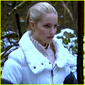 Dianna Agron: 'The Hunters' Featurette!