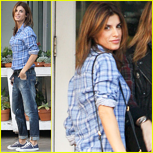 Elisabetta Canalis: Fred Segal Casual