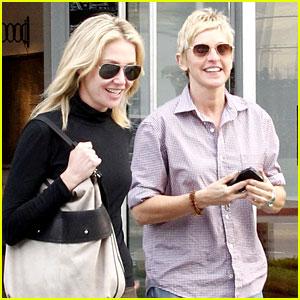 Ellen DeGeneres & Portia de Rossi Check Out the Melrose Project