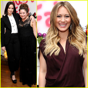 Emily Blunt & Hilary Duff: JustFabulous Holiday Party!