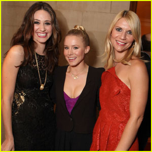 Emmy Rossum & Claire Danes: Showtime Holiday Soiree!