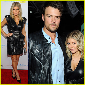 Fergie: Apl.de.ap's Birthday Celebration with Josh Duhamel!