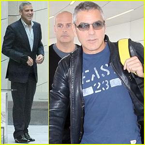 George Clooney: Sydney Departure!