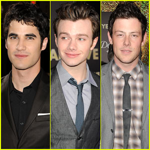 'Glee' Guys Hit Up the 'New Year's Eve' Premiere!