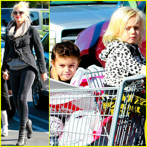 Gwen Stefani: Christmas Shopping with the Boys!