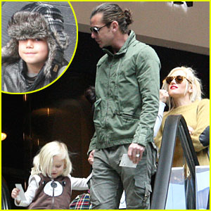 Gwen Stefani & Gavin Rossdale: Movie with the Kids!