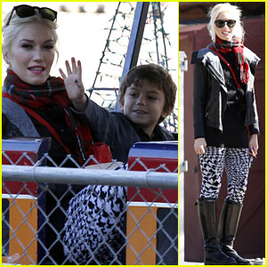 Gwen Stefani, Kingston & Zuma: Park Playtime!
