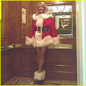 Heidi Klum: Sexy Mrs. Claus!