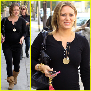 Hilary Duff: Christmas Shopping on Melrose!