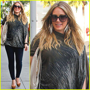 Hilary Duff: Shopping with Mike!