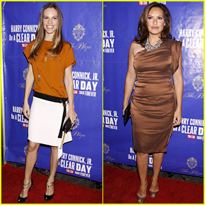 Hilary Swank & Mariska Hargitay: 'On A Clear Day' Opening!
