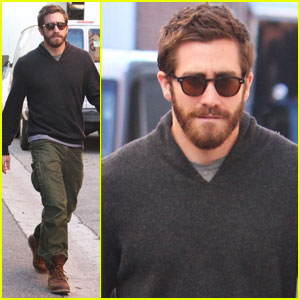 Jake Gyllenhaal: Birthday Weekend in Beverly Hills