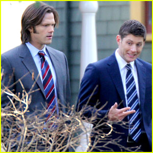 Jared Padalecki &#038; Jensen Ackles: Suits for 'Supernatural'