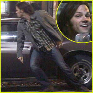 Jared Padalecki: 'Supernatural' Action Scenes!
