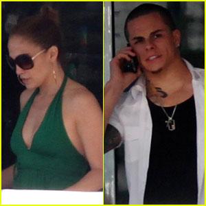 Jennifer Lopez & Casper Smart: Miami Mates!