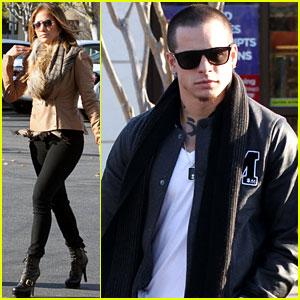 Jennifer Lopez: Jewelry Store Visit with Casper Smart!
