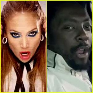Will.i.am & Jennifer Lopez: 'T.H.E.' Video Premiere!