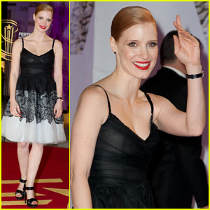 Jessica Chastain: Marrakech Film Festival Opening Ceremony!