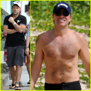 Jon Bon Jovi: Alive & Well in St. Bart's!