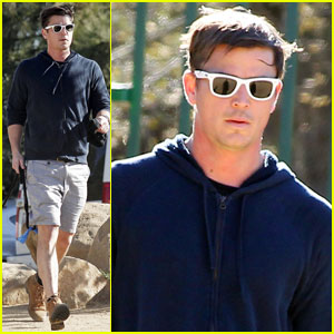 Josh Hartnett Hikes in Hollywood
