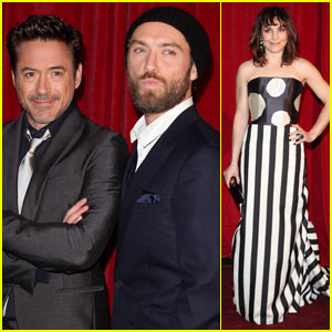 Jude Law & Noomi Rapace: 'Game of Shadows' in London!