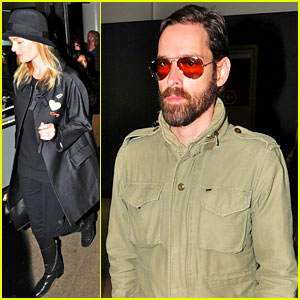 Kate Bosworth & Michael Polish: LAX Lovers!