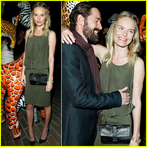 Kate Bosworth: Mulberry Party with Michael Polish!