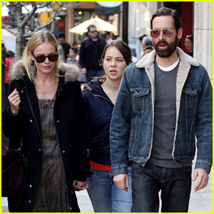 Kate Bosworth Shops with Michael Polish's Daughter