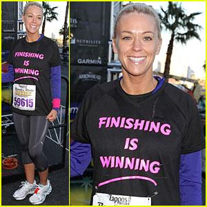 Kate Gosselin: Marathon Mama!