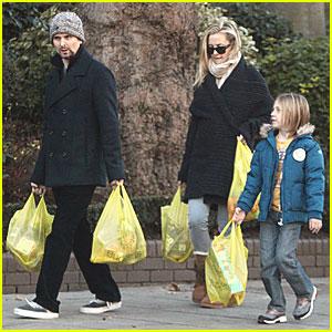 Kate Hudson & Matt Bellamy: Grocery Run with Ryder!