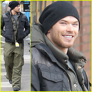 Kellan Lutz: Aspen for Holiday Break!