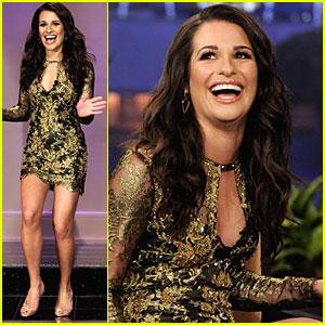 Lea Michele: 'Tonight Show' Interview!