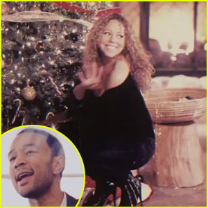 Mariah Carey & John Legend: 'When Christmas Comes' Video!
