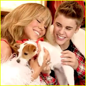 Mariah Carey & Justin Bieber: 'All I Want for Christmas Is You' Video Premiere!