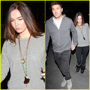 Megan Fox & Brian Austin Green: Let's Go Lakers!