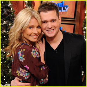 Michael Buble: 'Live! with Kelly' Co-Host!