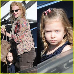 Nicole Kidman: New Year's Eve with Sunday Rose!