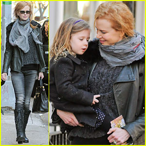 Nicole Kidman & Keith Urban Shop with Sunday