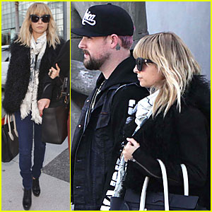 Nicole Richie & Joel Madden: Holiday Shopping in Beverly Hills