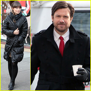 Olivia Wilde &#038; Jason Bateman: Busy Day on 'Longest Week'